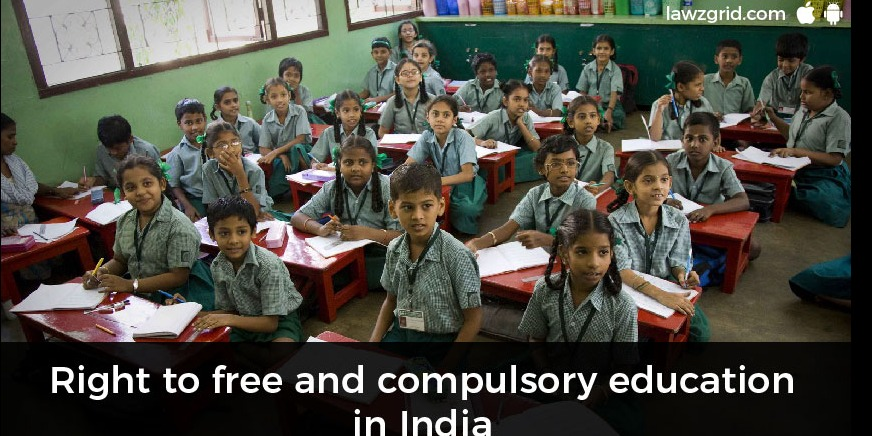 Right to free and compulsory education in India