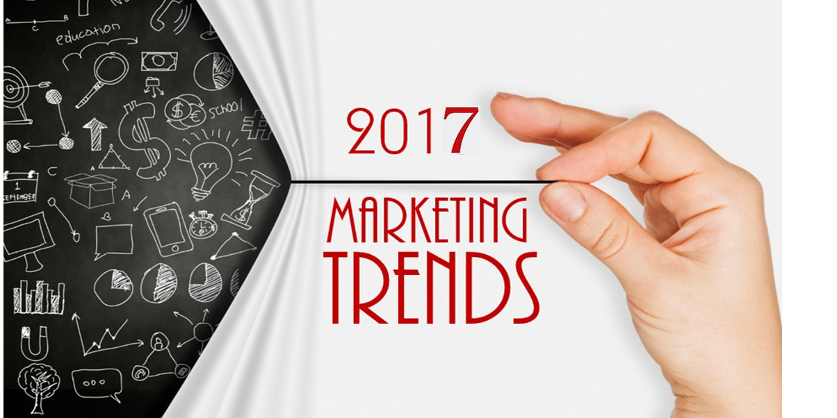 2017 will welcome these 5 online marketing trends
